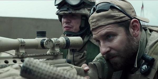 (Kyle/Cooper in azione - Foto © Warner Bros 2014)